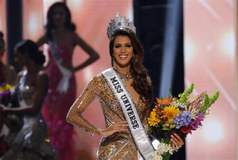 winner of miss universe 2016 iris mittenaere of france crowned miss universe 2016