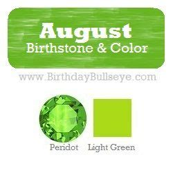 august color 10 images about birthstone list on color