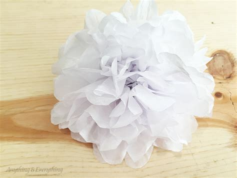 Tissue Paper Flowers Step By Step - easy wreath diy tissue paper flower