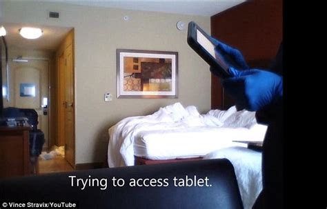 cameras in hotel rooms reveals what hotel cleaners really get up to in your room daily mail