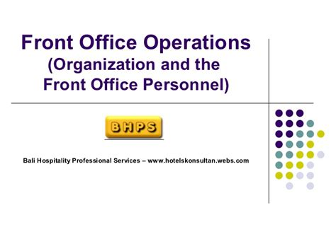 front office layout ppt 14100484 hotel front office department