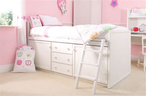 cabin beds for girls white cabin bed beautiful pure white cabin bed for kids