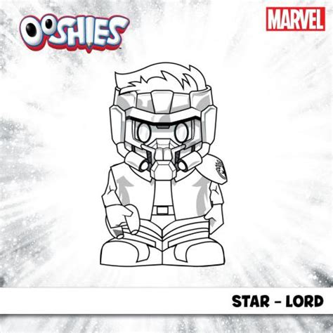 star lord coloring page marvel