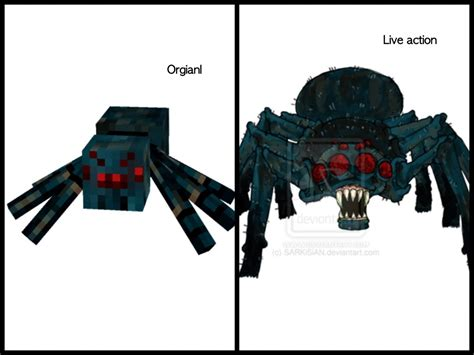 Minecraft Papercraft Spider - minecraft cavespider and camecial spider so epic
