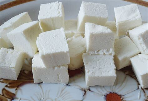 how to make paneer at home paneer cubes recipe