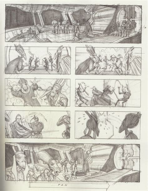star wars storyboards 1419707728 violaaponte9 storyboards reveal the amazing star wars prequel you never saw
