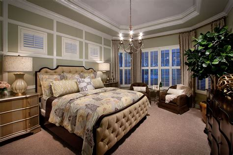master bedroom suites bougainvillea luxury model home completed at runaway bay in fiddler s creek golf community in