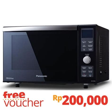 Oven Panasonic Indonesia jual panasonic microwave oven 23l inverter convention nn