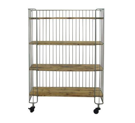 Wood Bakers Racks Furniture by Metal Wood Baker S Rack Shelf Statement Furnishings