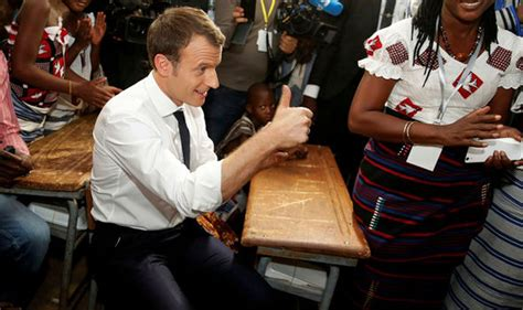 macron s france attracts english speaking tech start ups global emmanuel macron demands attractive french becomes world