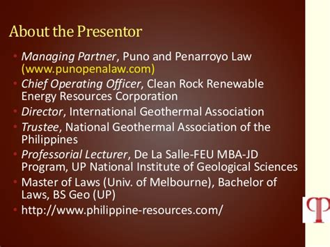 Mba For Renewable Energy Industry by Philippine Geothermal Industry Current Status And