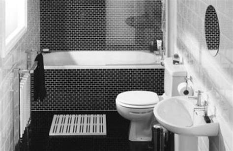 black white and bathroom decorating ideas fabulous black and white bathroom tile ideas for interior