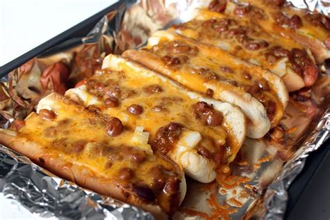 dogs in oven chili cheese dogs baked in the oven in the mood for food drin