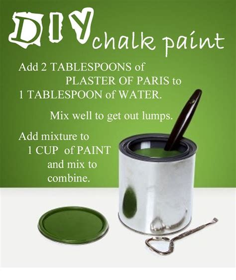 make your own chalk paint making your own chalk paint
