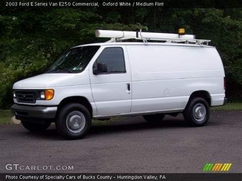 how cars engines work 2003 ford e series navigation system oxford white 2003 ford e series van e250 commercial