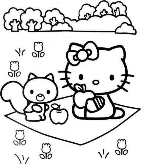 hello kitty coloring pages for toddlers free printable hello kitty coloring pages for kids