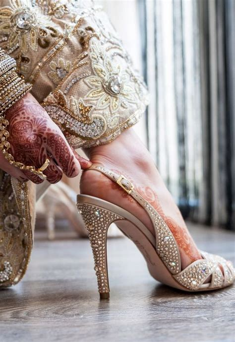 Bridal Footwear Wedding by Stunning Shoes And Bridal Mehndi Visit Http Www