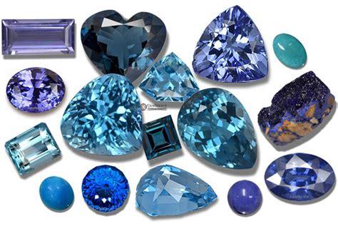 blue gemstones list of blue precious semi precious gems
