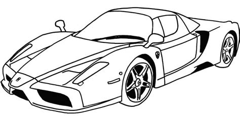 coloring pages of rc cars sport car coloring page
