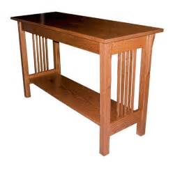 sofa table amish prairie mission sofa table