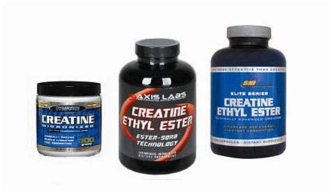 creatine ethyl ester vs creatine is creatine ethyl ester better than creatine monohydrate