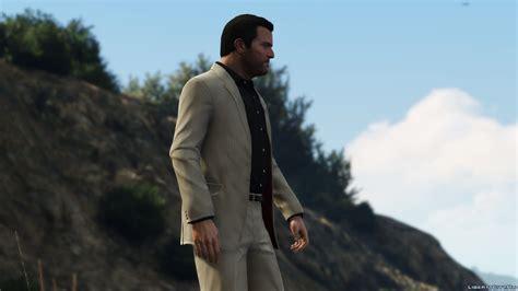 liberty city gta jacket black michael s cut suit for gta 5