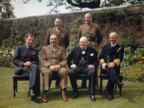 Garden And Gun Staff Top 1000 Winston Churchill With His Chiefs Of Staff In