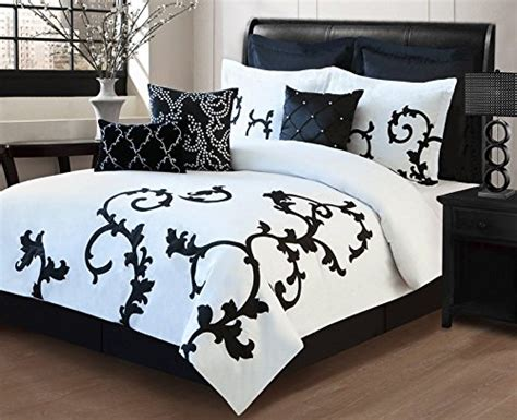 big white comforter black and white bedding ease bedding with style