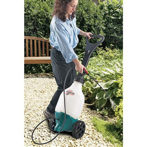 gilmour wheelpump sprayer  yard garden