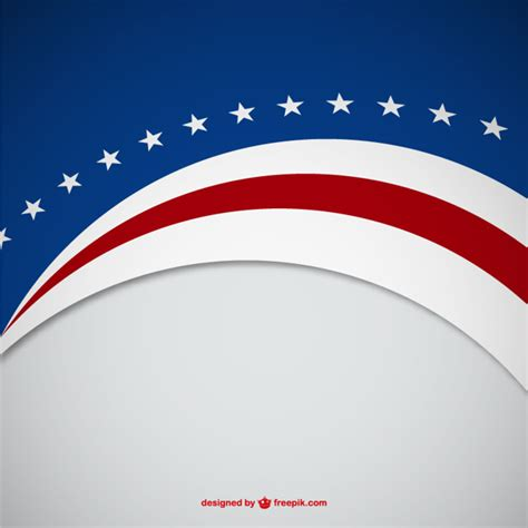 color us usa colors background vector free