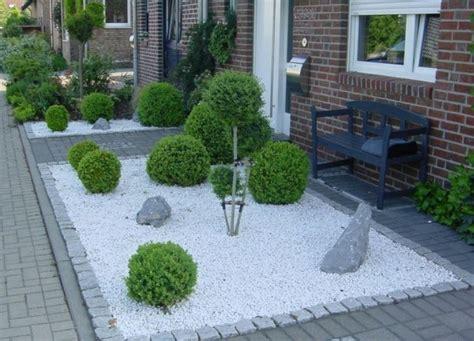 gartengestaltung vorgarten gartengestaltung ideen vorgarten mit kies garten und bauen