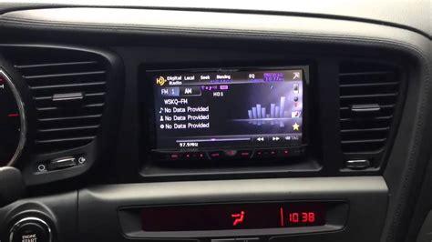 How To Update Kia Optima Navigation Kia Optima With Aftermarket Radio