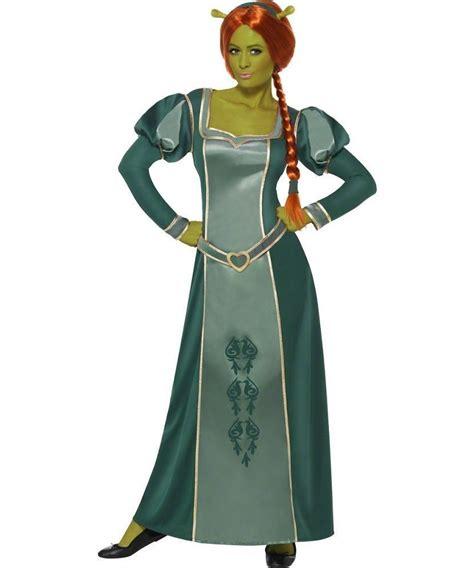 Dress Fiona shrek mens licensed fancy dress costume princess fiona