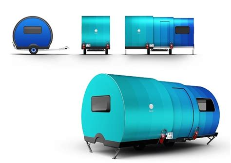 Floor Plans For Barndominium small expandable camper able to extend to 3x its size