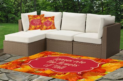 fall outdoor rugs fall leaves indoor outdoor rug baby n toddler