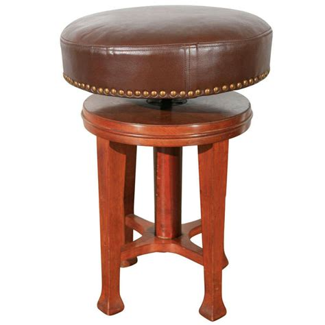Deco Stool by Deco Stool With Adjustable Seat For Sale At 1stdibs