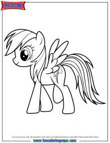 rainbow dash my little pony cartoon coloring page h amp m