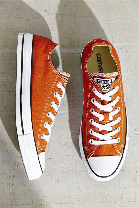Converse Chuck All Seasonal Color S Sneakers Shoes 6 converse chuck all seasonal low top sneaker in orange lyst