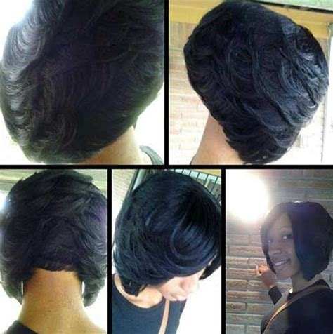 Black Hairstyle Bobs With Layers by Layered Bob Haircuts For Black Beautiful