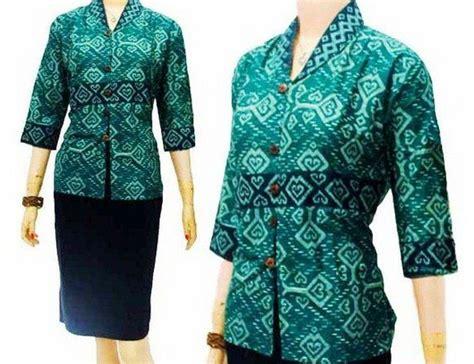 desain rok batik pendek 15 ide baju atasan batik desain cantik model terbaru