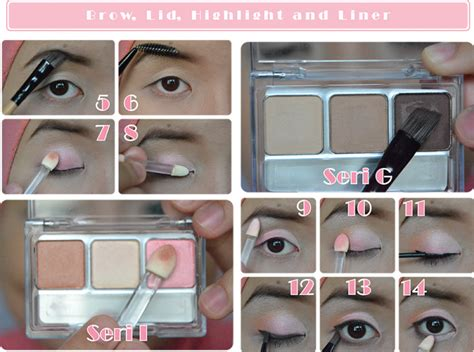 Eyeshadow Wardah Kit everyday wardah style oleh ikrima mishaila kompasiana