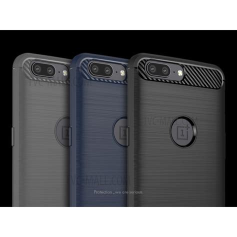 Carbon Fiber Ipaky Zenfone Live Softcase Tpu 1 ipaky brushed tpu carbon fiber back for oneplus 5 version black tvc mall