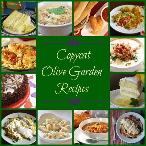 Olive Garden 2 For 20 by Make Your Own Olive Garden Menu 50 Olive Garden Copycat