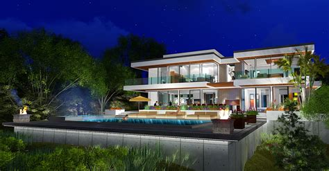 Home Design 3d 2nd Floor two story modern glass home design next generation