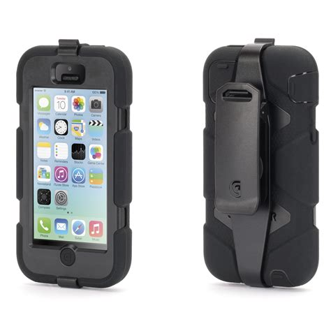 griffin survivor noir apple iphone 5c etui t 233 l 233 phone griffin technology inc sur ldlc