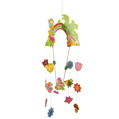 swing mobile wooden mobile fairy swing bigjigs bj867