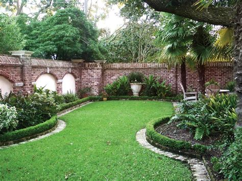 landscape garden design natural green lawn design to make refreshing ambiance