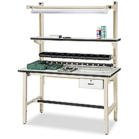 uline benches anti static work bench 60 x 30 quot h 2043