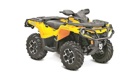 owners report can am outlander 1000 dirt wheels magazine