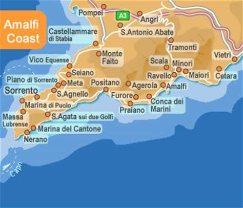 map of amalfi coast how to get to ravello ravello amalfi coast italy